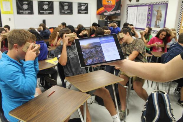 Google Expeditions : quand les élèves se mettent à la VR