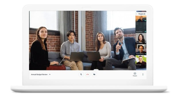 Lancement de Hangouts Meet et Hangouts Chat