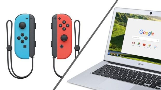 Les Joy-Con de la Nintendo Switch fonctionnent sur Chromebook ?