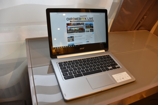 Test du Acer Chromebook R13