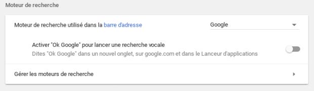 L'espace paramètres fait peau neuve sur Chrome OS !