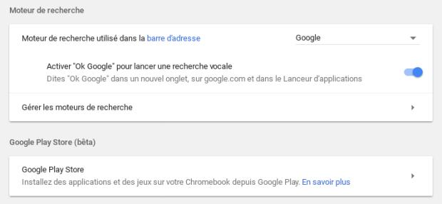 Lancez une recherche vocale avec votre Chromebook !