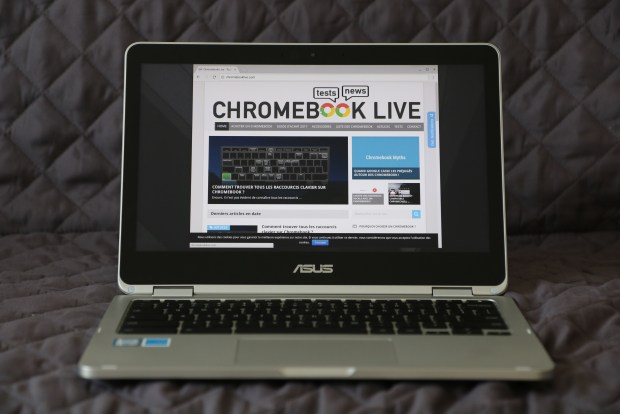 Test du Asus Chromebook Flip C302CA