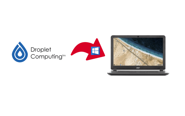 Droplet Computing : des applications Windows sur Chromebook ?