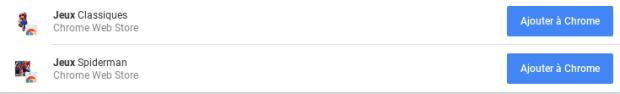 Le Chrome Web Store perd du poids sur Chromebook !