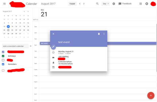 Google Calendar : bientôt une nouvelle interface !