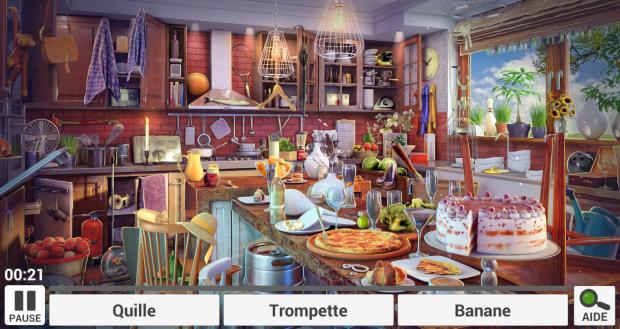 Objets Cachés Cuisine 2 : trouvez les objets cachés sur Chromebook