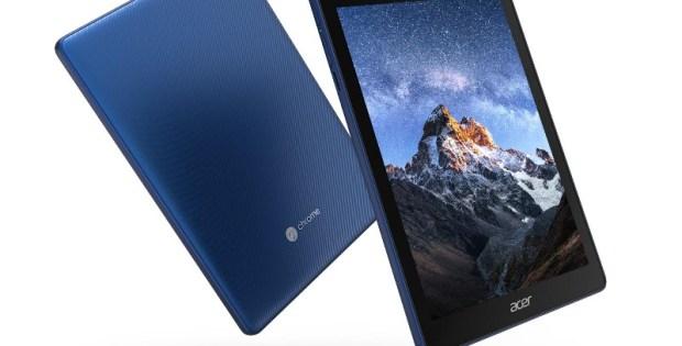 Acer Chromebook Tab 10 : la tablette est disponible à l'achat en France !