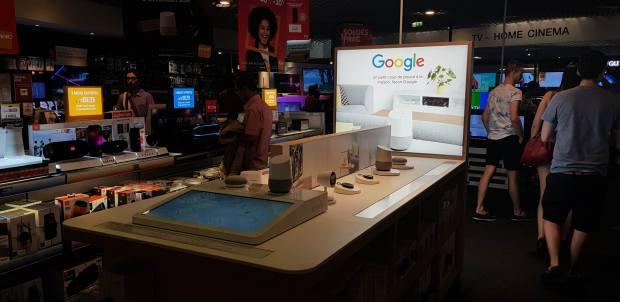Fnac et Google : les espaces dédiés se déploient !