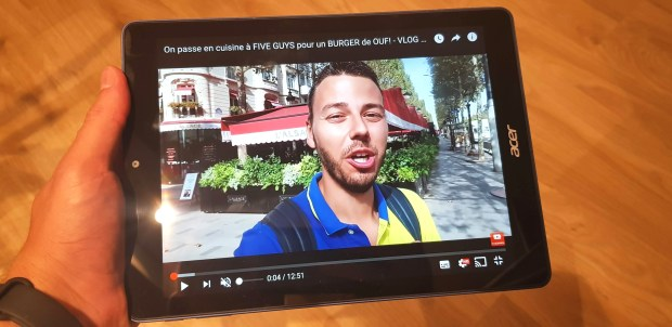 Test de la Acer Chromebook Tab 10 : la tablette pour l'éducation !