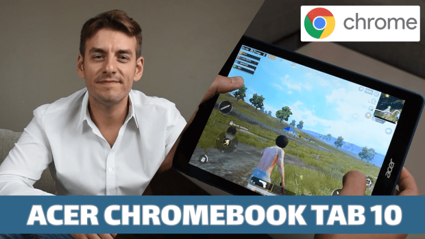 Test vidéo exclusif de la tablette Acer Chromebook Tab 10