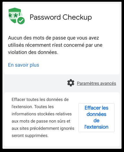 Password Checkup : l'extension Google pour vos mots de passe !