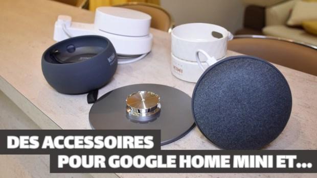Kiwi Design : des accessoires pour objets connectés comme le Google Home Mini (vidéo)