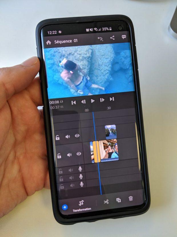 Adobe Premiere Rush : petit montage vidéo mobile en attendant la version Chromebook !
