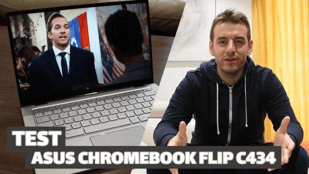 Vidéo test du Asus Chromebook Flip C434 !