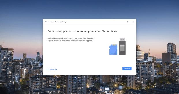 Comment restaurer un Chromebook ?