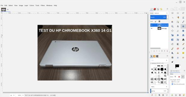 Test du HP Chromebook x360 14 G1
