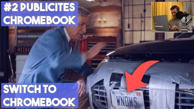 """Chromebook : j'analyse les publicités """"Switch To Chromebook"""" en vidéo !"""