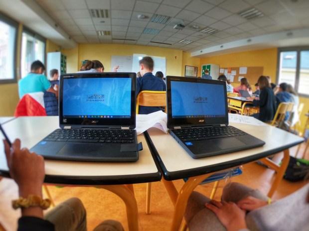 Education Chromebook Econocom - Collège et Lycée Le Mans