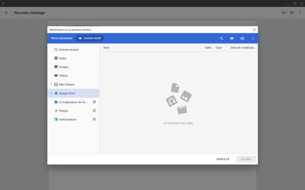 Google Photos s'intègre doucement sur Chrome OS !