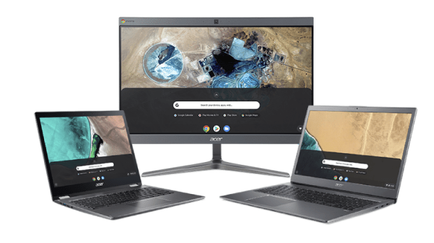 Acer lance 6 nouveaux devices Chrome Enterprise !
