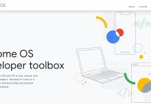 Chrome OS : la boîte à outils pour les développeurs !