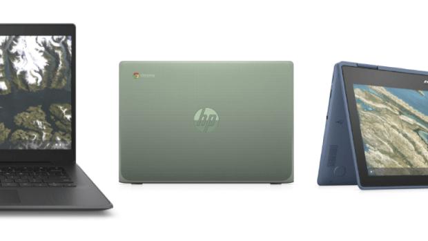 BETT 2020 : HP pousse 4 nouveaux Chromebooks