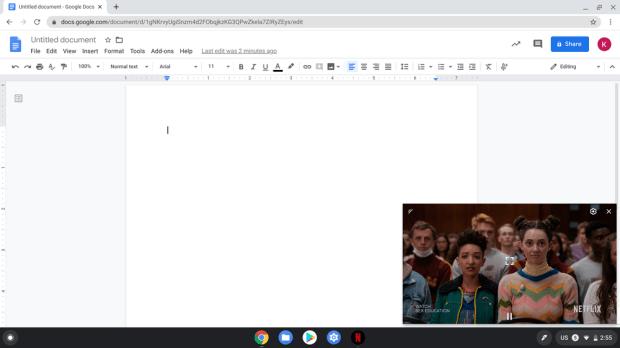 Netflix : le Picture-In-Picture et l'Ambient EQ sur Chromebook !