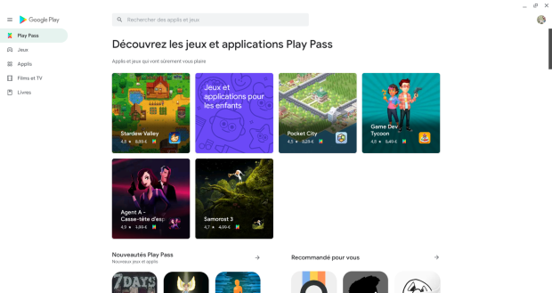 Chromebook : le Google Play Pass est désormais disponible en France !