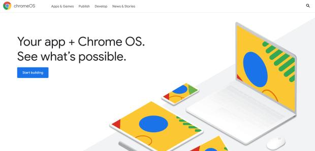 ChromeOS.dev : le nouveau site dédié aux développeurs !
