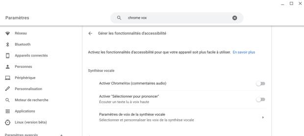Chrome OS 86 : une mise-à-jour qui met l'accent sur l'accessibilité !
