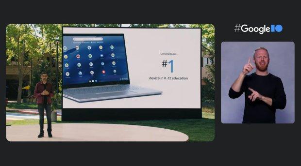 Google I/O 2021 : les nouveautés autour de Chrome OS !