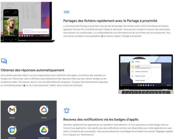 Chrome OS 91 vient de débarquer avec quelques sympathiques nouveautés !
