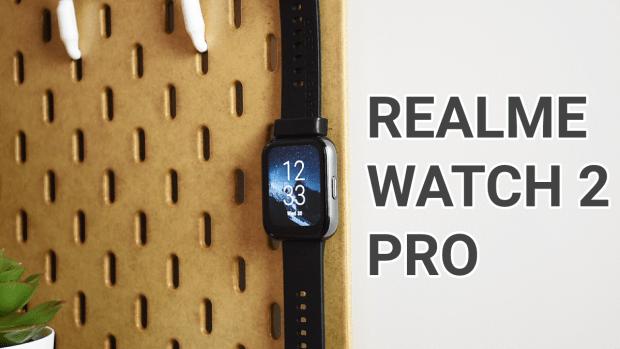 Vidéo test de la montre connectée Realme Watch 2 Pro
