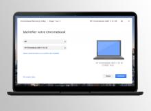 Chrome OS : plus besoin de clé USB pour effectuer une restauration ?