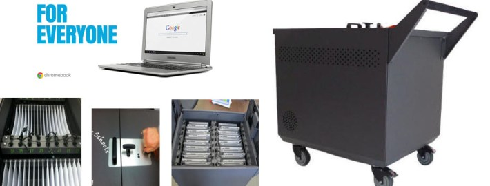 Datamation Chromebook carts and cabinets