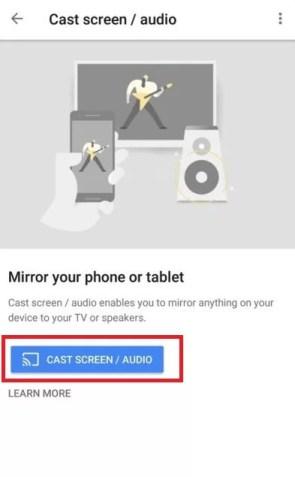 Chromecast Mobdro