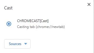 Chromecast for Chrome