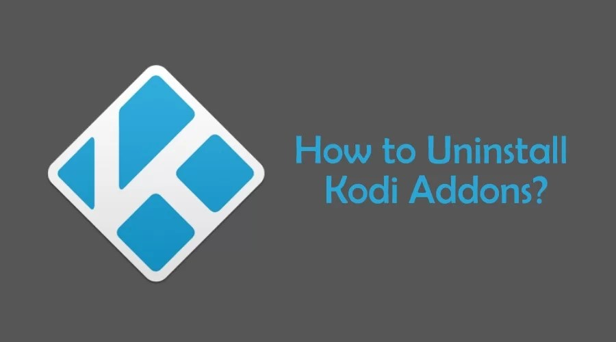 How to uninstall Kodi Addons?