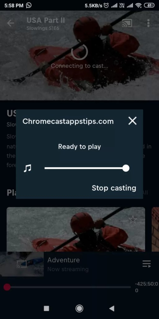 Red Bull TV Chromecast