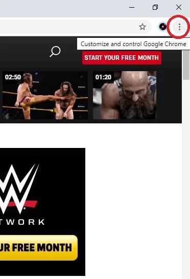 WWE on Chromecast