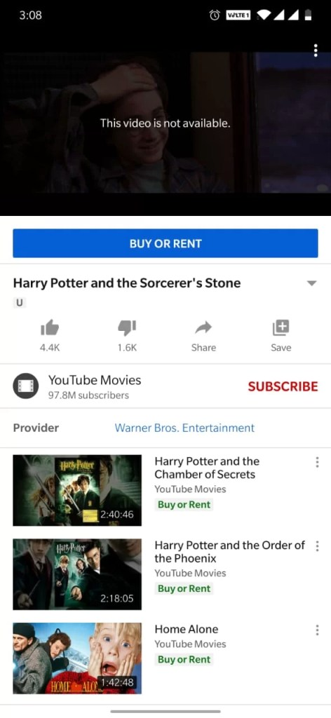 Chromecast Harry Potter