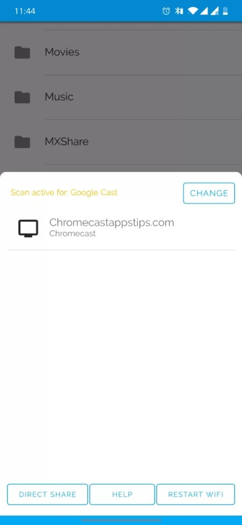 Chromecast Local Videos from Android
