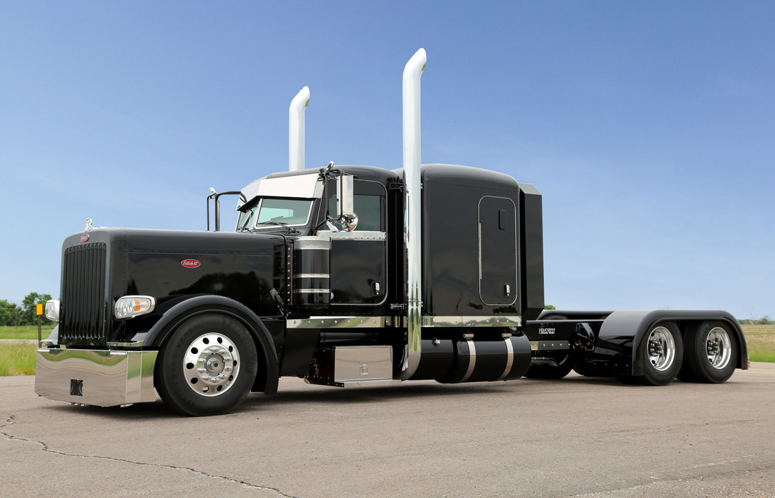 2014 Chrome Crew Peterbilt 389 Flat Top