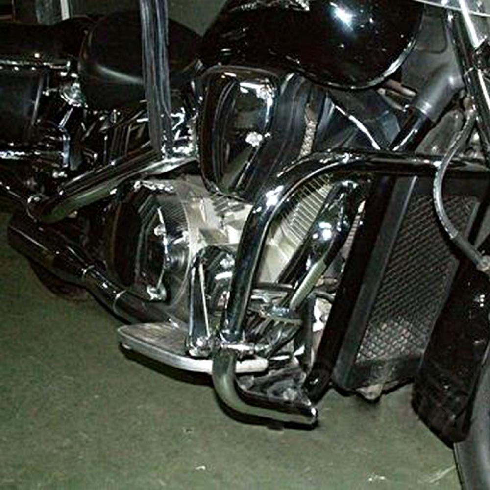 hight resolution of honda vtx 1300 retro custom r c s t 2003 2009 heavy duty chrome engine crash bar guard