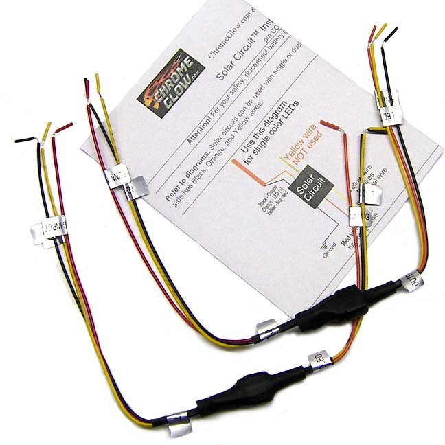 solar circuits motorcycle led turn signal wiring harness