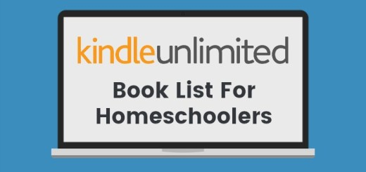 Kindle Unlimited Book List For Homeschoolers