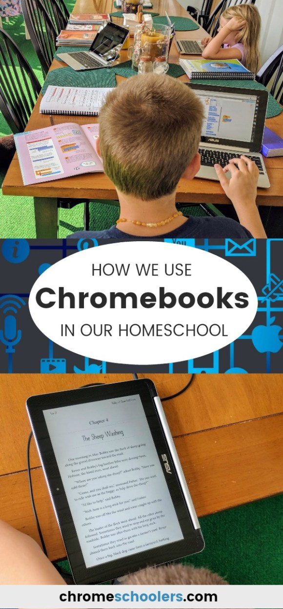 How We Use Inexpensive Convertible Touchscreen Chromebooks for Homeschooling