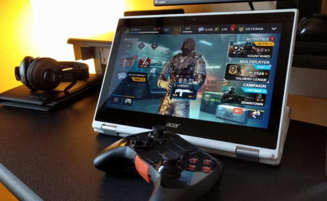 Playing Games On A Chromebook Is Great With Android Apps