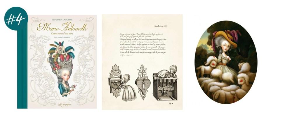 Le Livre Marie-Antoinette Carnet secret d'une reine